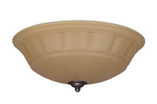 Emerson ventiladores de techo lk140vnb grande ámbar Scavo luz Fixture para ventiladores de techo, candelabro, bronce...