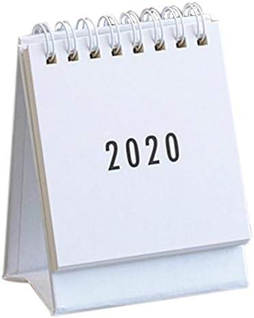 Allowevt Mini 2020 Tischkalender, Simplicity Daily Flip Calendar mit freistehender Staffelei - 2,95 x 3,74 Zoll