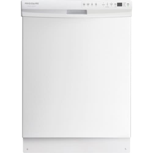 "Frigidaire Gallery 24"" Tall Tub Built-In Dishwasher White FGBD2445NW"