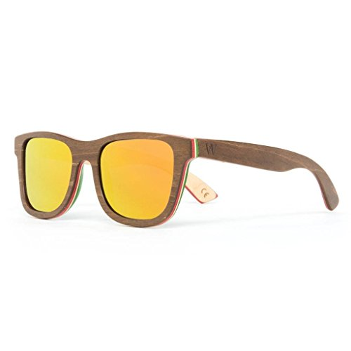 Maple Wood Skateboard Deck Polarized Sunglasses – Woodzee Sierra (Decks Skateboard Maple)