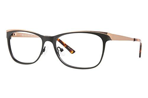 ann-taylor-at101-eyeglass-frames-frame-black-brown-size-53-15mm