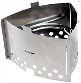 Trangia triángulo parabrisas y Base soporte para espíritu Gel quemador de gas estufa