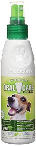 PetzLife Peppermint Oral Care Spray, 4-Ounce