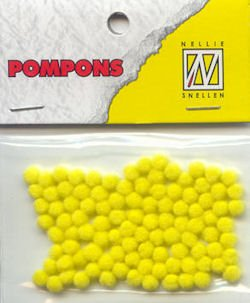 NEON POM POMS PACK OF 100 BY TRIMITS