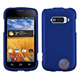 MYBAT Titanium Solid Dark Blue Phone Protector Cover Compatible With ZTE N9101 (Imperial)