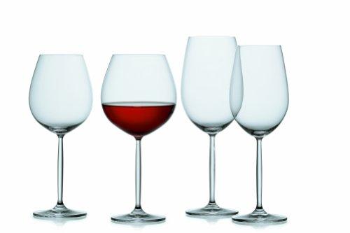 Schott Zwiesel Tritan Crystal Glass Diva Stemware Collection Claret/Bordeaux Goblet, Red Wine Glass, 26-Ounce, Set of 6 by Schott Zwiesel (Image #5)'