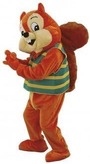 Mascotte disfraz, diseño de ardilla: Amazon.es: Juguetes y juegos
