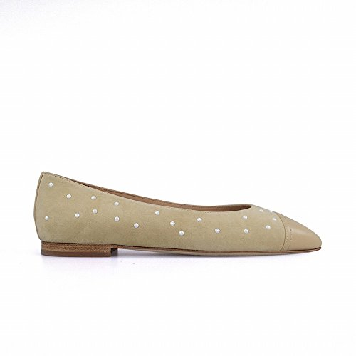studiolee 37 Grape Zapatos Ballet DHG Negro Mama de Perla vals fragantes Pequeños Primavera 6Ex7Zq