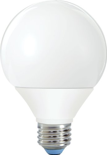 GE Lighting 61353 Reveal CFL 11-Watt (40-watt replacement) 450-Lumen G25 Light Bulb with Medium Base, 1-Pack (Reveal Globe)