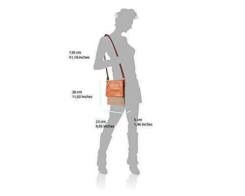 Shoulder LaGaksta Leather Italian White Soft Crossbody II Bag Ashley CqCaz