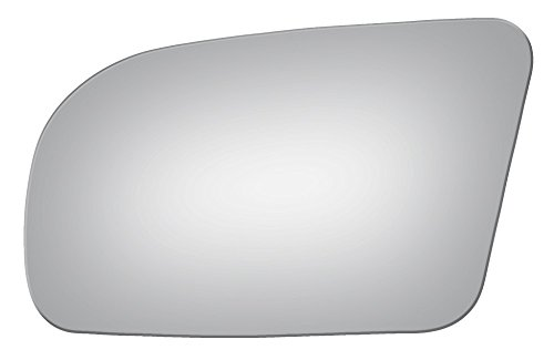 (Mirrex 73080 Replacement Mirror Glass for 2009-2014 Driver Left Side fits Nissan Maxima 2009 2010 2011 2012 2013 2014)