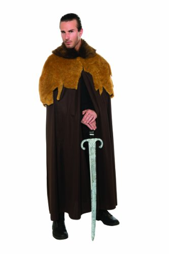 Warlord Adult Costumes - Rubie's Costume Deluxe Medieval Warrior Cloak