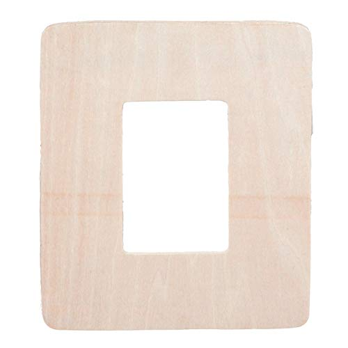 Bulk Buy: Darice DIY Crafts Wood Frame Rectangle 5 x 6 inches (24-Pack) -