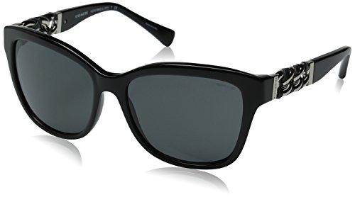 COACH Women's 0HC8156Q Black/Grey - Amazon Coach Sunglasses