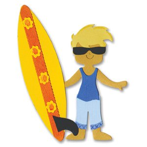 Sizzix Die Dress Ups Surfer Outfit