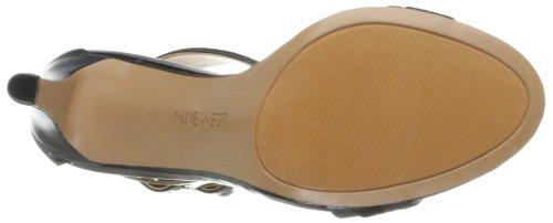 Multi Nine Estrilada West Damen Sandale Schwarz Kleid xYYfaqzwC