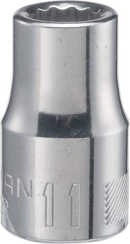 CRAFTSMAN Shallow Socket 12-Point CMMT44229 11mm 1//2-Inch Drive Metric