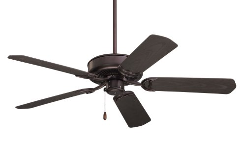 Emerson CF654ORB Sea Breeze 52-Inch Ceiling Fan with Weather Resistant Blades, Light Kit Adaptable, Oil Rubbed Bronze Finish ()