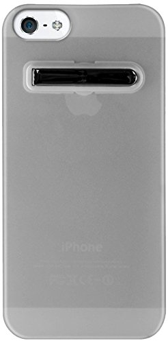 Katinkas KATIP51185 Soft Cover für Apple iPhone 5 Stand klar