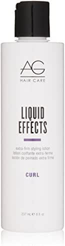 AG Hair Curl Liquid Effects Extra-Firm Styling Lotion 8 Fl Oz
