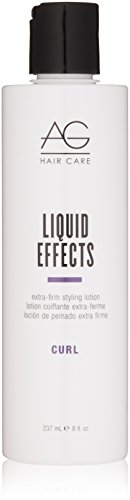 - AG Hair Curl Liquid Effects Extra-Firm Styling Lotion 8 Fl Oz