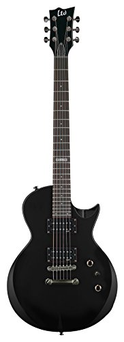ectric Guitar with Gig Bag, Black ()