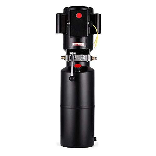Hydraulic Power Unit TBVECHI 220V 3HP Solenoid Operation Car Lift Hydraulic Power Unit Adjustable 2950 PSI -