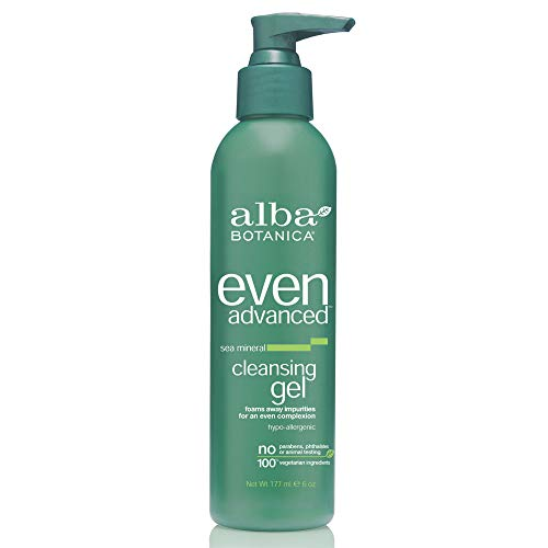 Mineral Face Wash - Alba Botanica Even Advanced Sea Mineral Cleansing Gel, 6 oz.