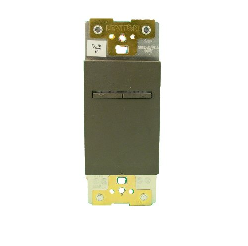 Leviton ATH08-1LG, Acenti 8A-120VAC Fluorescent Dimmer for Hi-Lume Or Eco-10 Ballasts, Single-Pole, 3-Way or More Applications, ()