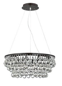 (Eurofase 25689 Canto 8-Light Chandelier, Oil Rubbed Bronze)