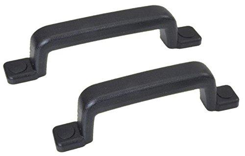 FKAnhä ngerteile 2 Stü ck - Handgriff/Rangiergriff - Metall Kunststoff ummantelt - schwarz FKAnhängerteile