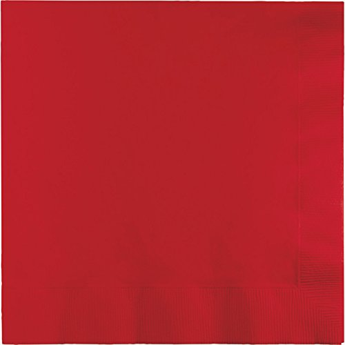 Creative Converting Value Pack Paper Luncheon Napkins, Classic Red, 150-Count