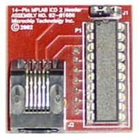 MICROCHIP AC162066 MPLAB ICD HEADER, 20 PIN, FOR PIC16F639