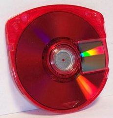 MMR UMD PSP Replacement Game Case (Red) 1 Pack