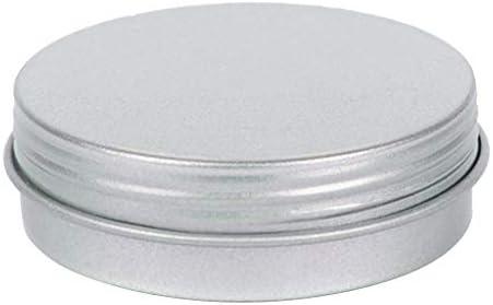 Sharplace Lata Redonda Vacía de Metal con Tapa Caja de ...