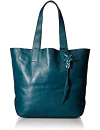 Carson Leather Tote Bag