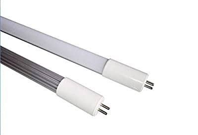 (Pack of 30) AC100-277V 15W T5 5G 4ft(1163mm) High Output Bulbs,milky cover 6500K Daylight, equal to 45W traditional Fluorescent tubes fixture