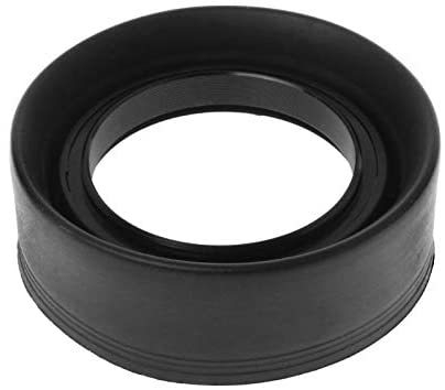 Lens Hood Rubber Collapsible Wide-Angle 3 Stage 49mm Camera Accessories Replacement Art