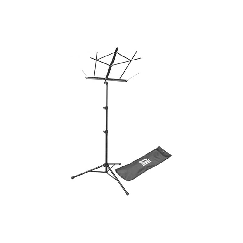 on-stage-sm7122bb-folding-music-stand