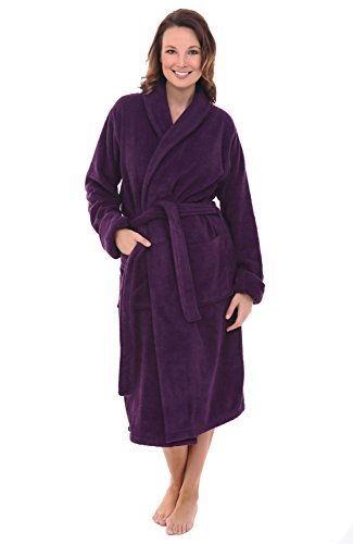 Del Rossa Womens Turkish Bathrobe