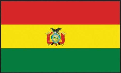 O3 3x5 Bolivia Flag Bolivian Country Banner South American Pennant Bandera Outdoor