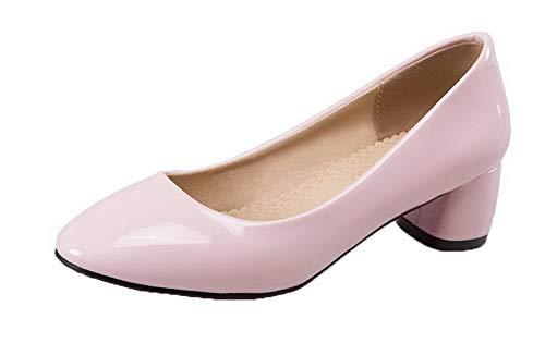 Puro Flats Rosa Chiusa Punta Ballet Tirare Donna FBUIDD006070 AllhqFashion Fwqa5ga