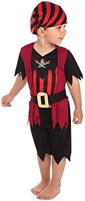 Pirate - Disfraz niño, talla 2-3 años (CC019): Amazon.es: Juguetes ...