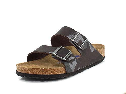 Birkenstock Men's Arizona Soft Footbed Limited Edition Sandals, Desert Soil Camo Brown (DSRTSOLVMOBRN), 46 - Limited Desert Camo