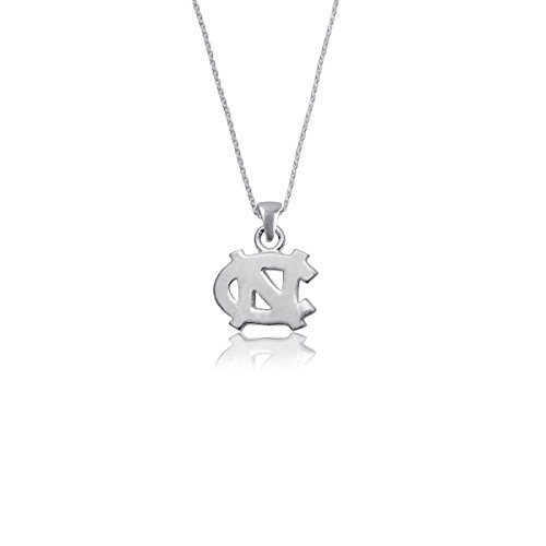 Unc Pendant Sterling Silver Jewelry - University of North Carolina Tar Heels UNC Sterling Silver Jewelry by Dayna Designs (Pendant Necklace)
