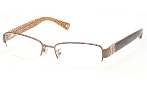 COACH Eyeglasses HC 5027B 9094 Dark Brown/Dark Tortoi - Coach Womens Frames