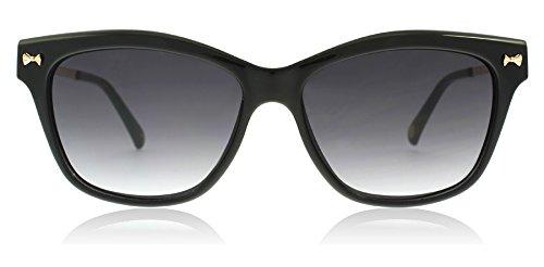 Amazon.com: Ted Baker tb1441 001 negro Inga Oval anteojos de ...
