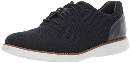 Rockport Men's Garett Mesh Laceup Oxford New Dress Bl 12 M US