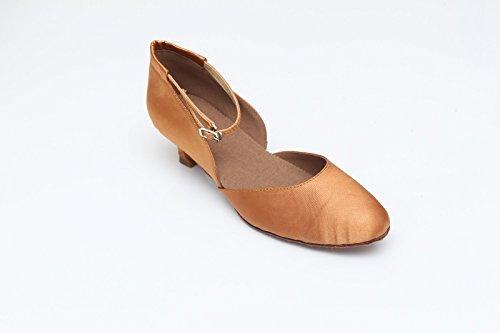 scarpe scarpe donna ballo ShangYi raso 5cm CN39 EU39 scarpe ballo ballo da Tango fondo da da da con da ballo alte morbido moderne UK6 da Scarpe ballo in qYYZStP