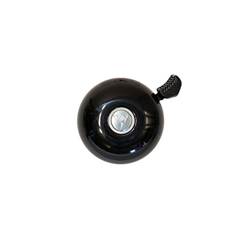 Firmstrong Classic Beach Cruiser Bicycle Bell, Black Bicycle Ringer